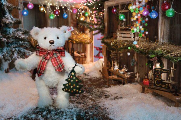 Steiff Christmas Teddy Bear