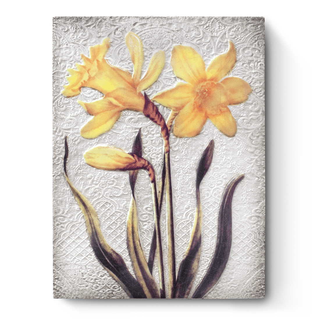 Daffodils (Orange - Signed), Sid Dickens