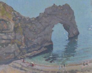 Richard Price cliff top view