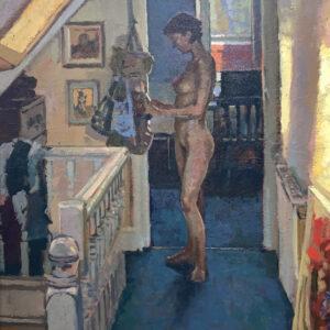 Attic Nude - Richard Price Painting