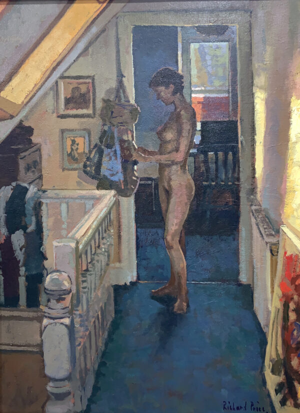 Attic Nude - Richard Price Painting