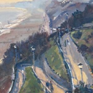 Richard Price Painting - West Cliff Path