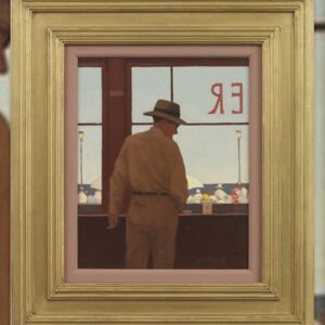 Daytona Diner - Jack Vettriano original painting