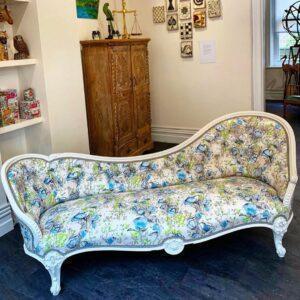 Mid 19th Century Chaise Longue