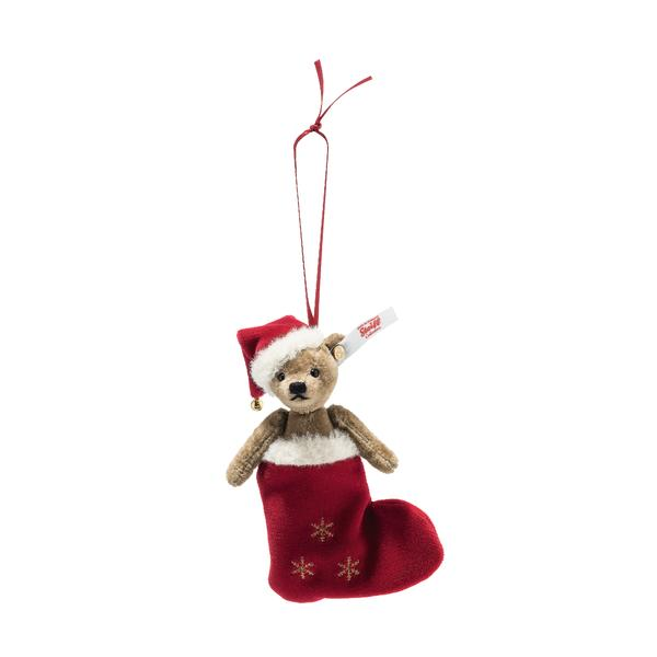 Steiff Bear - Christmas Bear in a Stocking