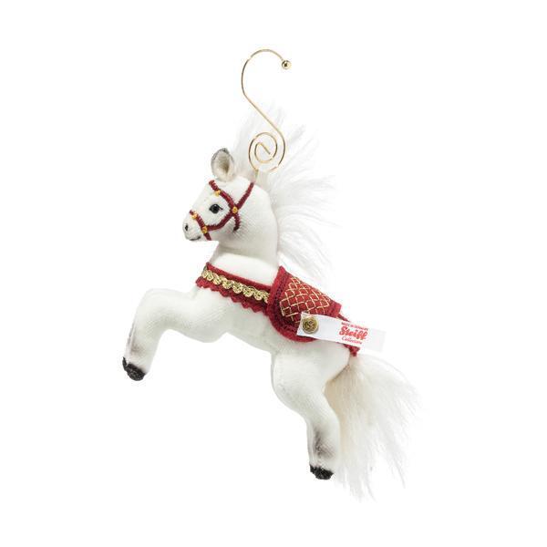 Christmas Horse Steiff Bear